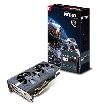 SAPPHIRE Radeon RX 570 NITRO+ 8GB GDDR5 256bit PCIe (11266-36-20G) Videokártya