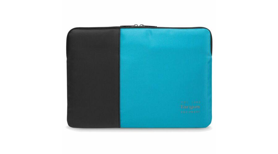 Targus Pulse 13-14 Laptop Sleeve Black Atoll Blue - Notebook táska f8ab03e150