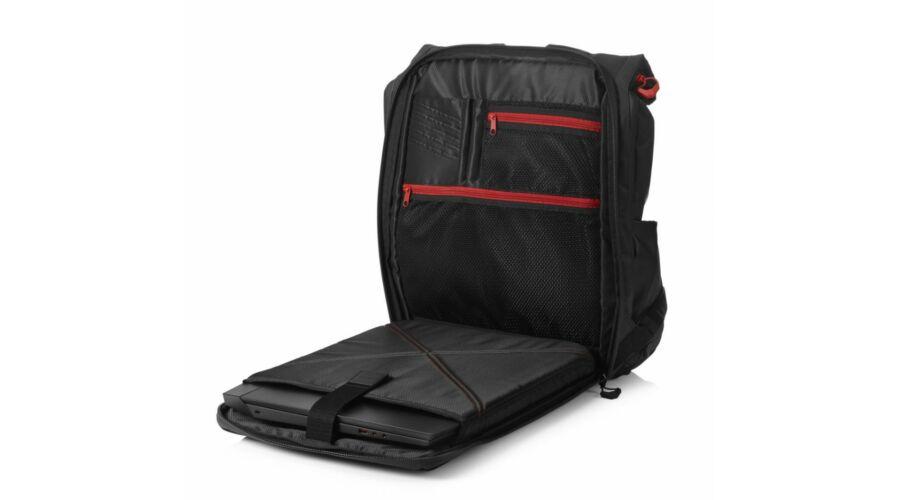 11008ae5abe91 HP OMEN X Transceptor Gaming Backpack 17,3 Black - Notebook táska