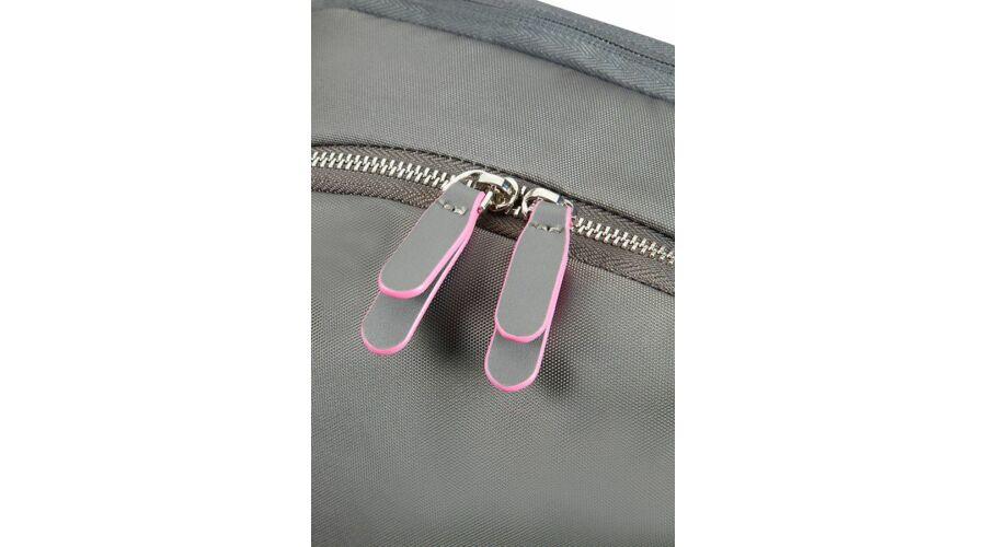 0c28c90bd53f Samsonite Nefti Laptop Backpack 14,1 Rock Grey/Fuchsia - Notebook táska